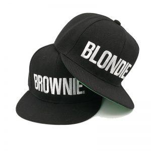 Blondie Brownie pet cap snapback