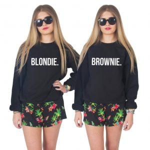 BLONDIE en BROWNIE sweater