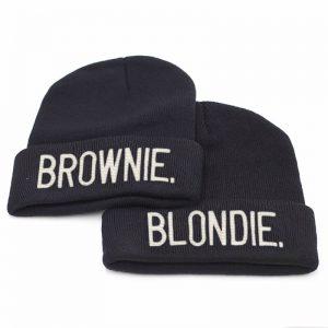 Blondie Brownie mutsen 2