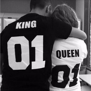 King & Queen shirts