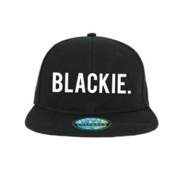 Blackie cap snapback pet