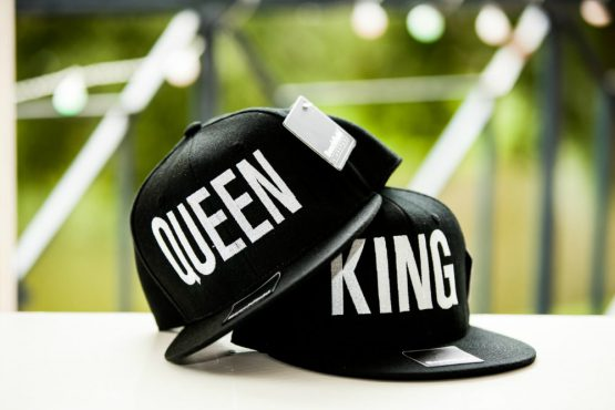 King Queen cap snapback