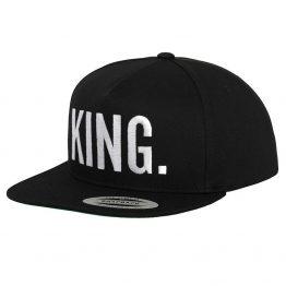 King snapback cap