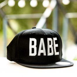 Babe pet cap snapback