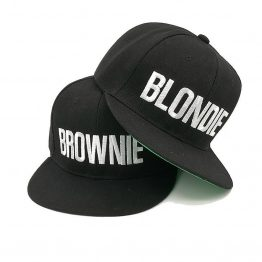 Blondie Brownie cap snapbacks