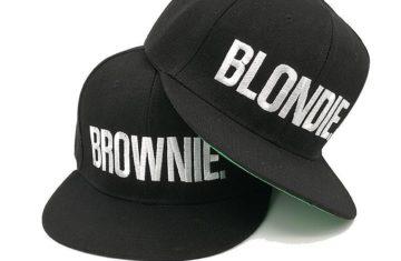 Na King & Queen, nu ook Blondie en Brownie petten verkrijgbaar!