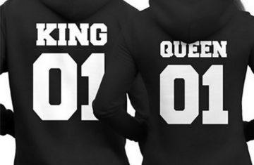 Nieuwe King and Queen kleding voor hem en haar!