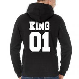 King hoodie sweater