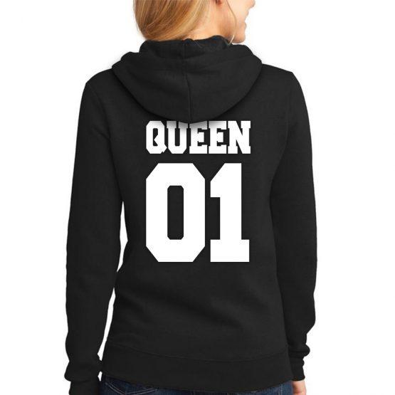 Queen hoodie sweater