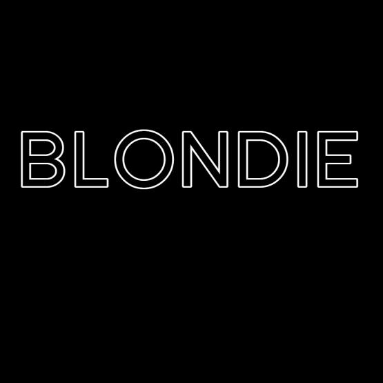 Blondie Opdruk