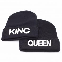 King & Queen Beanie mutsen