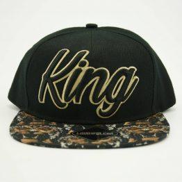 King snapback cap voorzijde