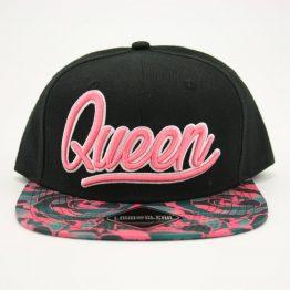 Queen snapback cap