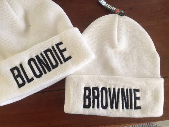 Blondie Brownie beanie mutsen