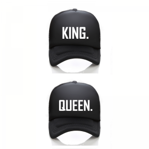 King Queen Trucker cap pet