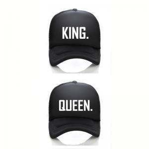 King Queen Trucker cap pet