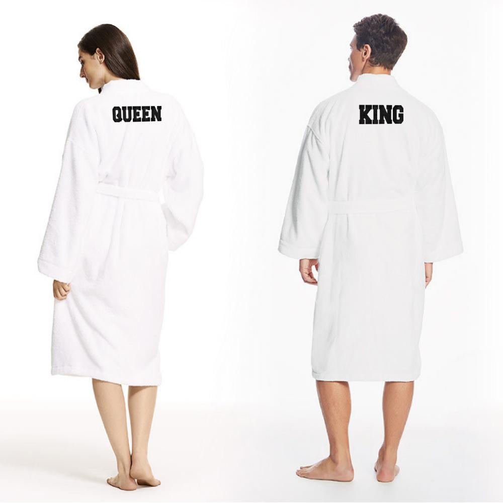 kwaliteitsproducten verschillende stijlen popul King & Queen badjas