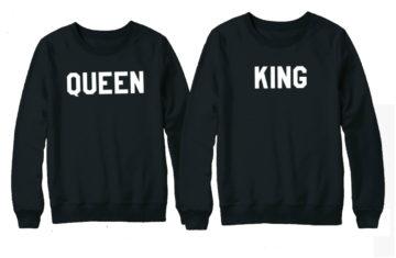 Uitbreiding van de King & Queen sweaters en hoodies