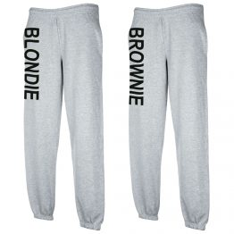 Blondie Brownie Joggingbroek Grijs