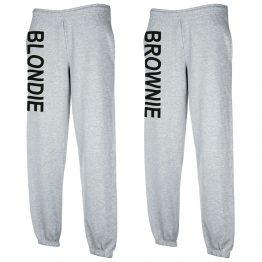 Blondie Brownie Joggingbroek Grijs