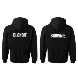 Blondie Brownie hoodie sweater