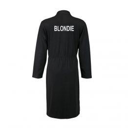 Blondie badjas zwart