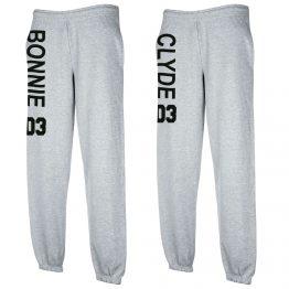 Bonnie Clyde joggingbroek Grijs
