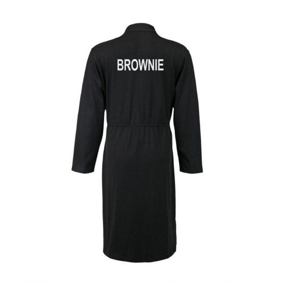 Brownie badjas zwart