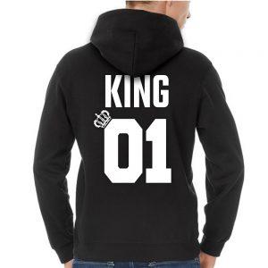King 01 Queen 01 hoodie