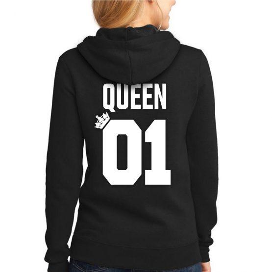 King 01 Queen 01 hoodie dames