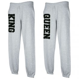 King Queen Joggingbroek Grijs