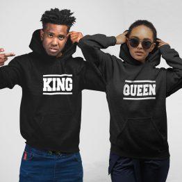 King Queen hoodie Lines