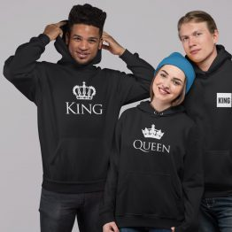 King Queen hoodies Classic