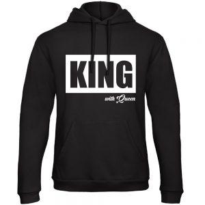 King hoodie groot