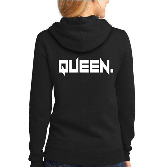 Queen hoodie trui stoer