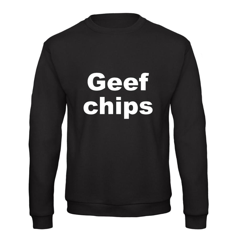 Trui Sweater.Geef Chips Trui Sweater Kopen Snelle Levering Tijdelijk 24 95