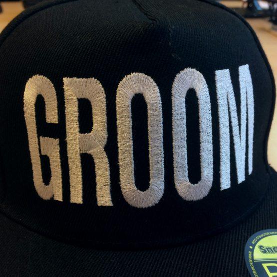 Groom Cap Zoom