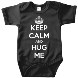 Keep Calm And Hug Me romper