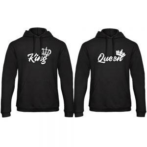 King Queen hoodie Royal