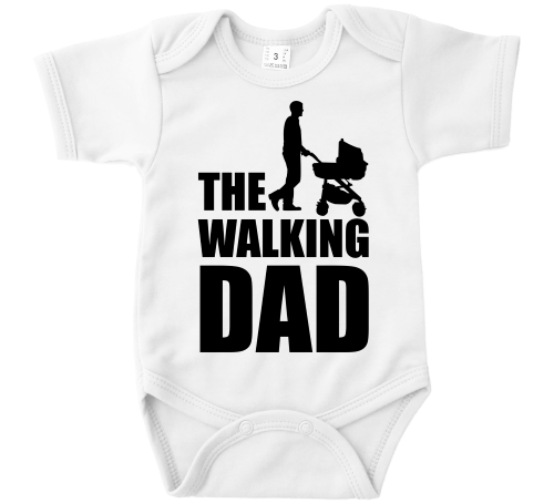 The Walking Dad romper