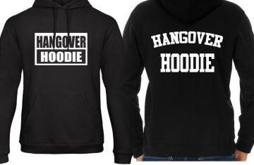 Nieuwe toevoeging: Hangover hoodies voor je brakke zondag!