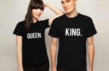 King & Queen shirts voor lente en zomer 2018!