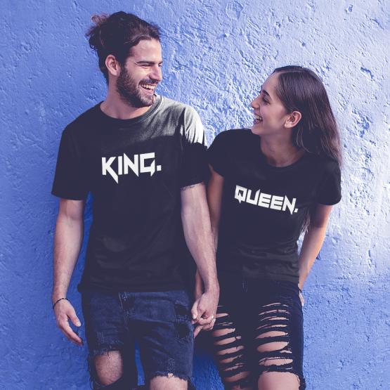 King Queen shirt stoer