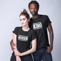 King Queen shirts Stripes