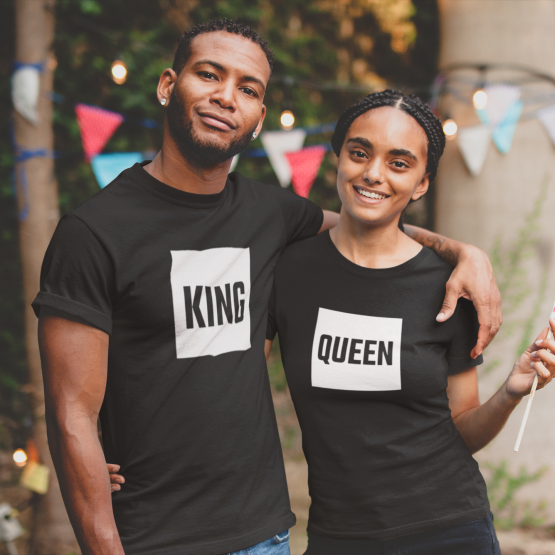 King Queen shirts blok