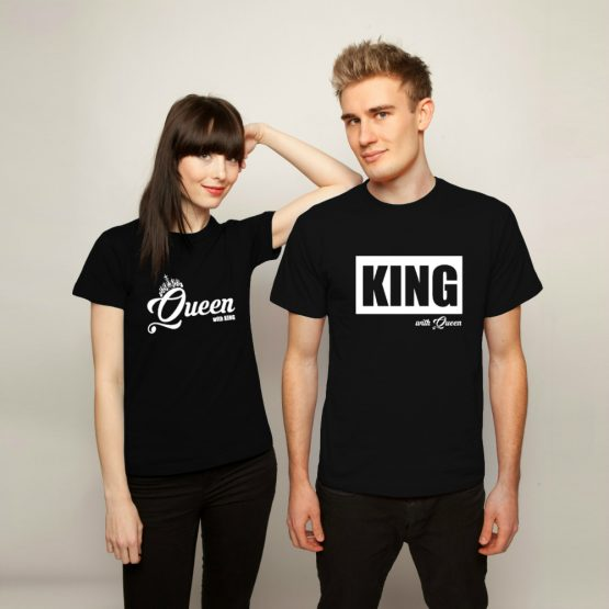 King Queen shirts groot