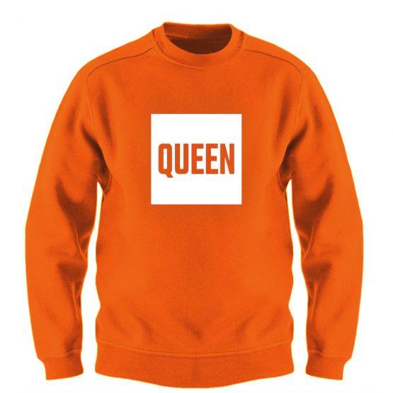 Koningsdag Trui Blok Queen