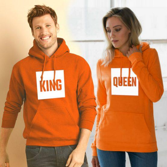 Koningsdag hoodie Blok