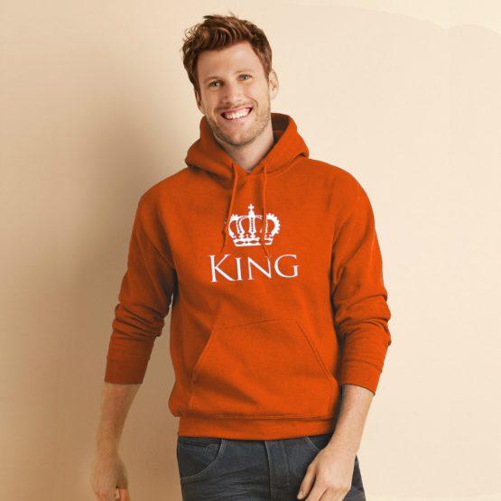 Koningsdag hoodie Classic King