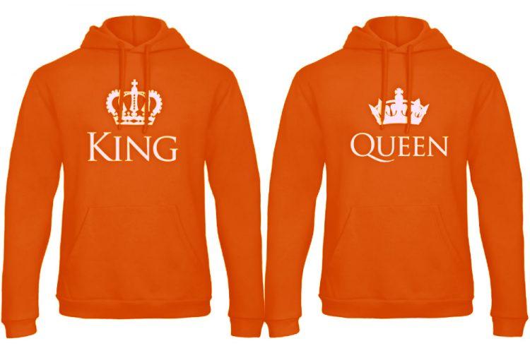 Koningsdag hoodie sweater Classic